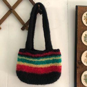 Handmade Waldorf Felted Wool Handbag